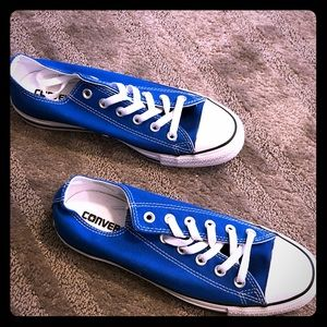 Blue Chuck Taylor All Star Low Top